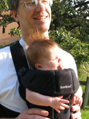 Mmm, fresh BabyBjorn...