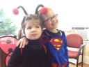 ladybug &amp; supergirl
