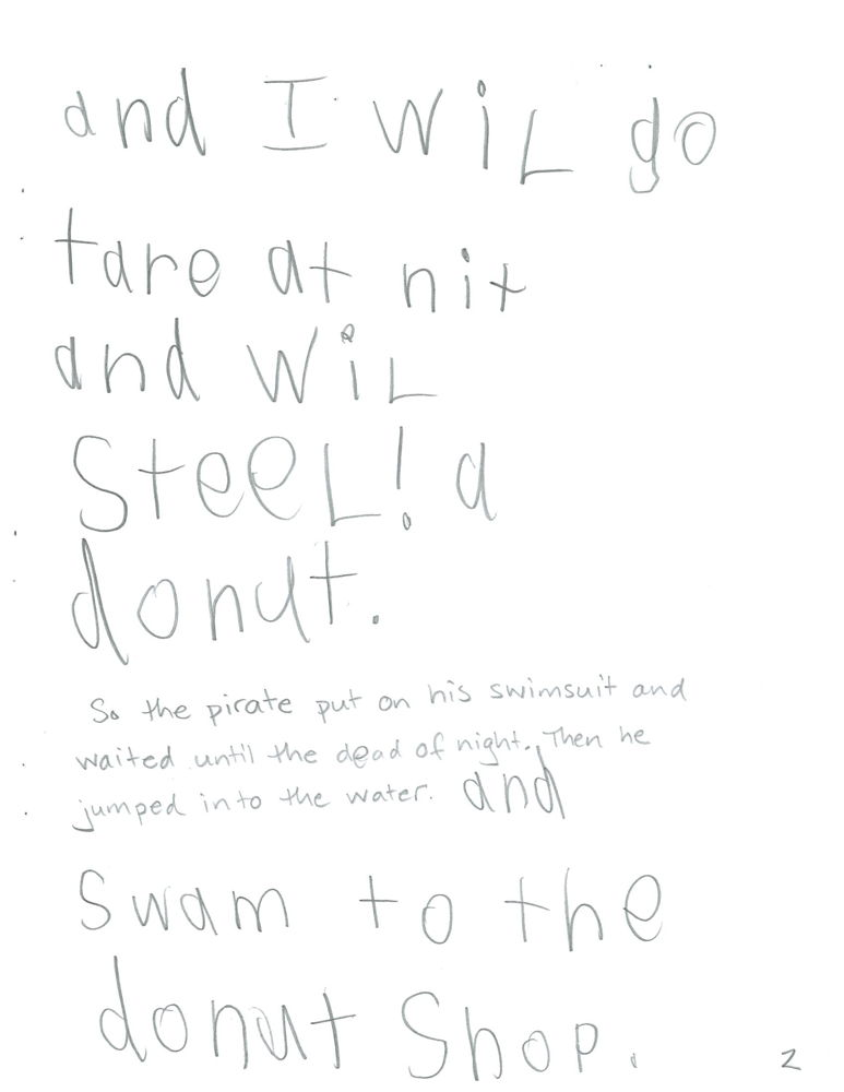 The Donut Pirate, page 2