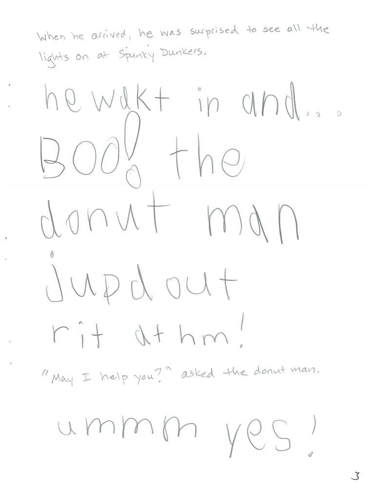 The Donut Pirate, page 3